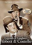 Legends of Laughter: Abbott & Costello (DVD, 2010, 6-Disc Set)