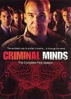 Criminal Minds - The Complete First Season (DVD, 2006, 6-Disc Set)