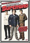 Superbad (DVD, 2007, Unrated; Extended E...