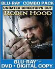 Robin Hood (Blu-ray Disc, 2010, 2-Disc Set, Special Edition Rated/Unrated)