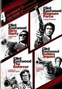 Dirty-Harry-Collection-4-Film-Favorites-DVD-2010-4-Disc-Set-Canadian
