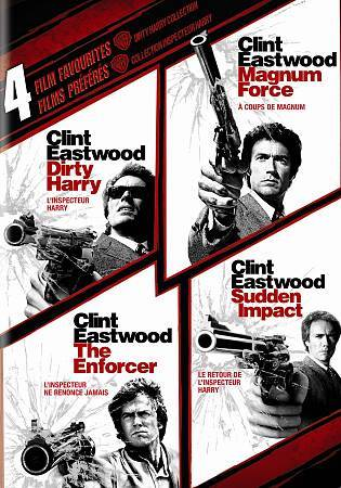 Dirty Harry Collection: 4 Film Favorites (DVD, 2010, 4-Disc Set, Canadian)