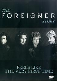 Foreigner - Feels Like The Very First Time - The Foreigner Story (DVD, 2003)