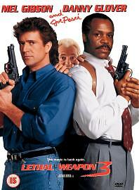 Lethal Weapon 3 DVD 2001 Director039s Cut - <span itemprop=availableAtOrFrom>West Ruislip, London, United Kingdom</span> - Lethal Weapon 3 DVD 2001 Director039s Cut - West Ruislip, London, United Kingdom