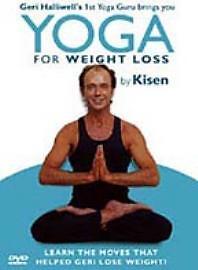 Yoga-For-Weight-Loss-By-Kisen-DVD-Very-Good-DVD-Kisen