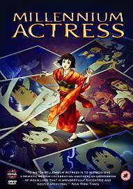 DVD Millennium Actress (DVD, 2005 Animated) ANIME + CARDBOARD SLEEVE