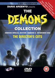 Demons 1 & 2  plus Bonus Disc (DVD, 2004) Special Edition 3 Disc DVD Box Set)