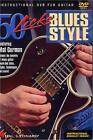 50 LICKS - BLUES STYLE GUITAR (DVD, 2005)