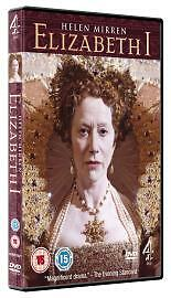 Elizabeth I DVD Helen Mirren Jeremy Irons Channel 4 New Sealed UK Release