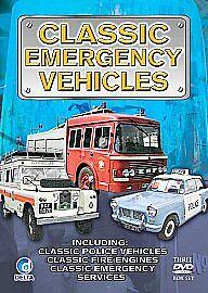Classic Emergency Vehicles-3 DVD SET-BRAND NEW SEALED