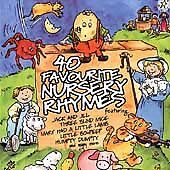 Various Artists : 40 Favourite Nursery Rhymes CD Expertly Refurbished Product