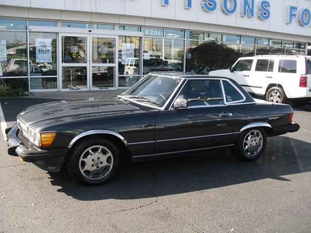 1987 Mercedes Benz 560SL Hardtop 96K Miles SWEET!!