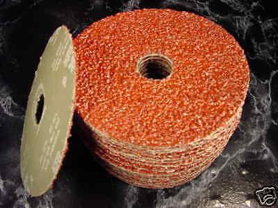 25pc 5  Inch 36 Grit Resin Fiber Sanding Disc 7/8 Arbor Hole Canada Sand Disk