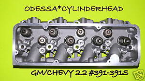 NEW FITS GM CHEVY CAVALIER S10 2.2 OHV #391 391S CYLINDER HEAD