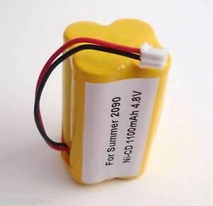 Summer-baby-monitor-battery-02090-0209A-02720-1100mAH