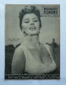 SOPHIA LOREN - polish mag [1959] SPENCER TRACY - <span itemprop=availableAtOrFrom>Gniezno, Polska</span> - SOPHIA LOREN - polish mag [1959] SPENCER TRACY - Gniezno, Polska