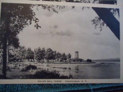 1925 Miller Bell Tower Chautauqua Ny New York Post Card
