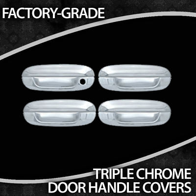 2003-2007 Cadillac Cts 4 Door Triple Chrome Handles on Sale