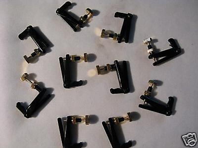 30pcs Brand new Good violin black fine tuners  #6677 on Rummage