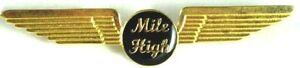 50010 MILE HIGH CLUB PILOT CAPTAIN WINGS AIRLINES PIN BADGE AVIATION