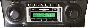 1953 - 1982 Corvette Radio Usa-630 Custom Autosound