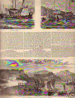 1860 Illustrated News Of World   English In Shanghai
