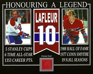 GUY LAFLEUR HONOURING A LEGEND PHOTO RED FORUM SEAT
