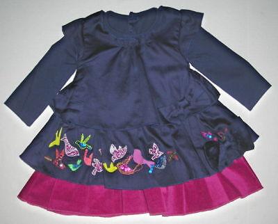 Catimini Spirit Couture Bird Dress-size 12 Month