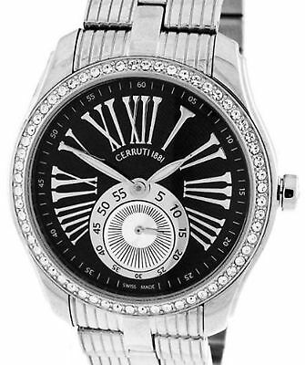CERRUTI LADIES TRADIZIONE DONNA SWISS MADE WATCH NEW SS CT100302S05