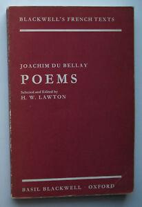 Poems-by-Joachim-Du-Bellay-Edited-by-H-W-Lawton