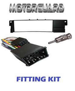 BMW-3-SERIES-E46-E36-STEREO-FACIA-FASCIA-SURROUND-FITTING-ADAPTER-PLATE-KIT