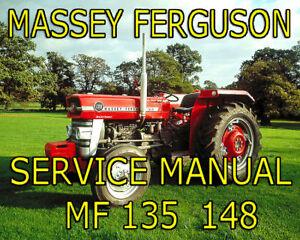 massey ferguson tractors mf 148 135 perkins service. Black Bedroom Furniture Sets. Home Design Ideas
