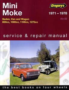 new gregorys service repair manual leyland mini moke 1971 1978 ebay rh ebay co uk leyland mini workshop manual download leyland mini workshop manual