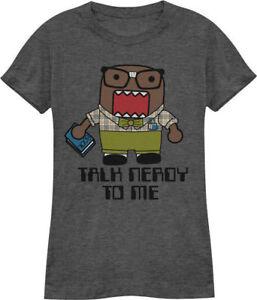 DOMO-KUN-FS-T-Shirt-Tee-NEW-Anime-Talk-Nerdy-JUNIORS