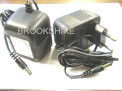 ( 2 PC, ) STANCOR POWER SUPPLY STAF-0381FM 6 VOLT DC @ 500MA PRIMARY 220/240VAC