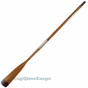 Decorative-Lifeboat-Oar-73-Brown-Wooden-Rowing-Row-Boat ...