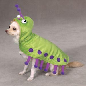 Zack & Zoey CATERPILLAR  Dog Halloween Costume XS S M L