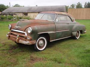 1951 chevy 2 door hardtop..rare car! will take payments   eBay