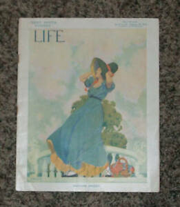 LIFE Magazine February 1912    Sunny South Number