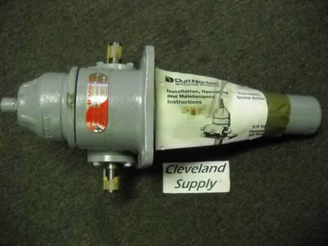 duff norton m9810 11b mechanical ball screw actuator duff norton m9810 11b mechanical ball screw actuator