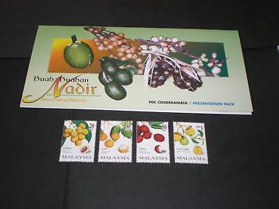 MALAYSIA 1998 RARE FRUITS PRES PACK