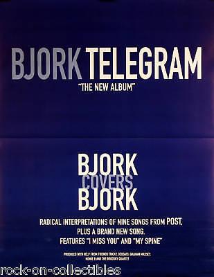 BJORK 1997 TELEGRAM ORIGINAL PROMO POSTER