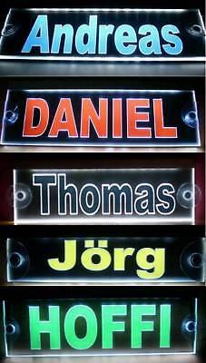 LKW Namensschild,LED beleuchtet, super Effekt,12V-24V