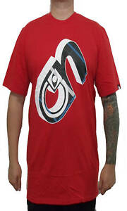 BRAND-NEW-WITH-TAGS-Nomis-N-3D-Tee-Shirt-RED-MED-LRG-XL-XLT-RARE-LIMITED-RELEASE