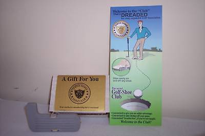 Golf Shoe Club Gag Gift For Bad Golfers Clubs Novelty Putter Stocking Stuffer
