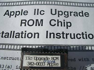 //c  ENHANCEMENT ROM 3 CHIP APPLE, IIC. ADDS UNIDISK 3.5! LIFETIME WARRNTY  $12.