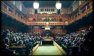 A4-BANKSY-ART-PHOTO-PRINT-MONKEY-PARLIAMENT