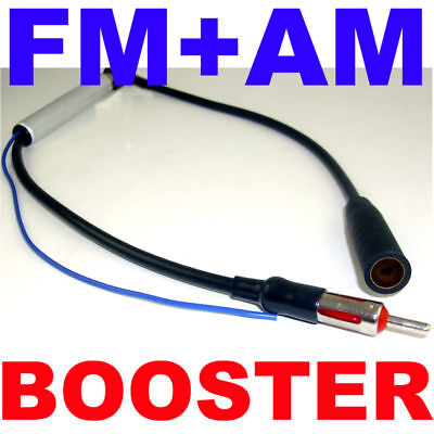 Car Antenna Radio FM & AM Signal Amp Amplifier Booster on Rummage