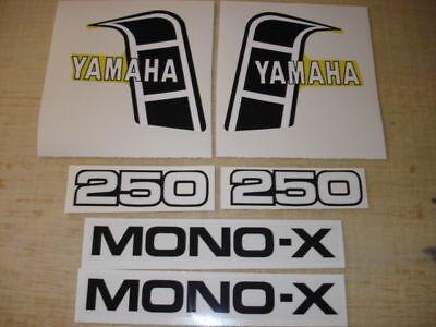 1982 Yamaha Yz 250 Complete Decal Set