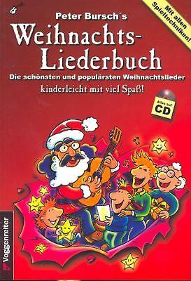 Peter Bursch's Weihnachtsliederbuch mit CD